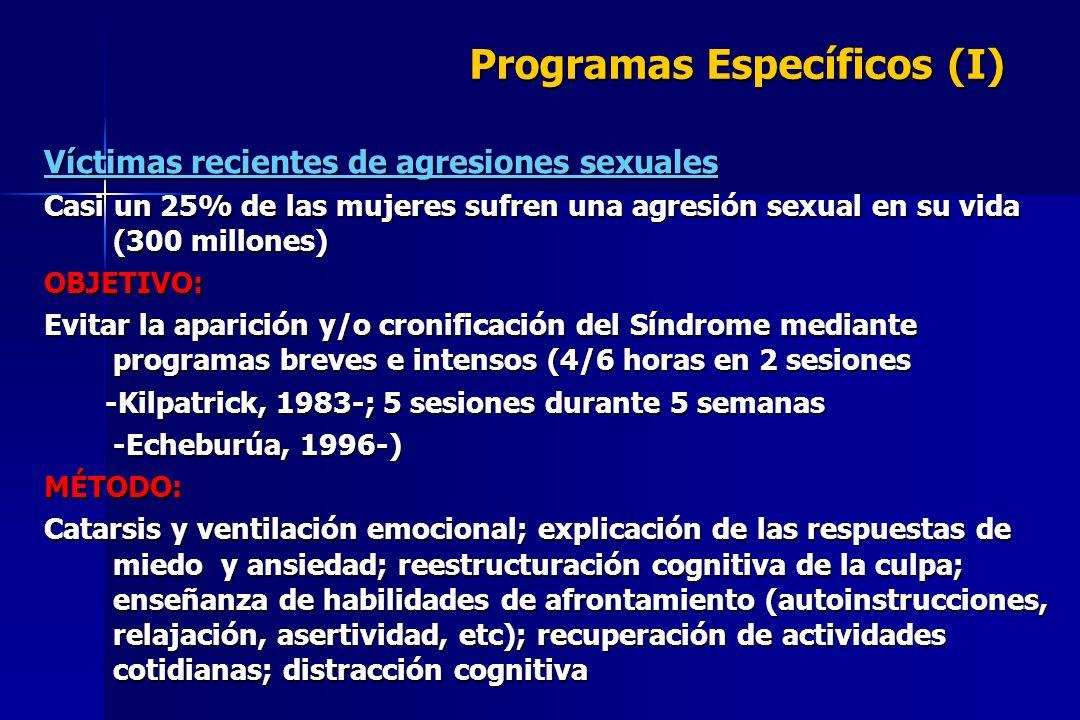 Programas Específicos (I)