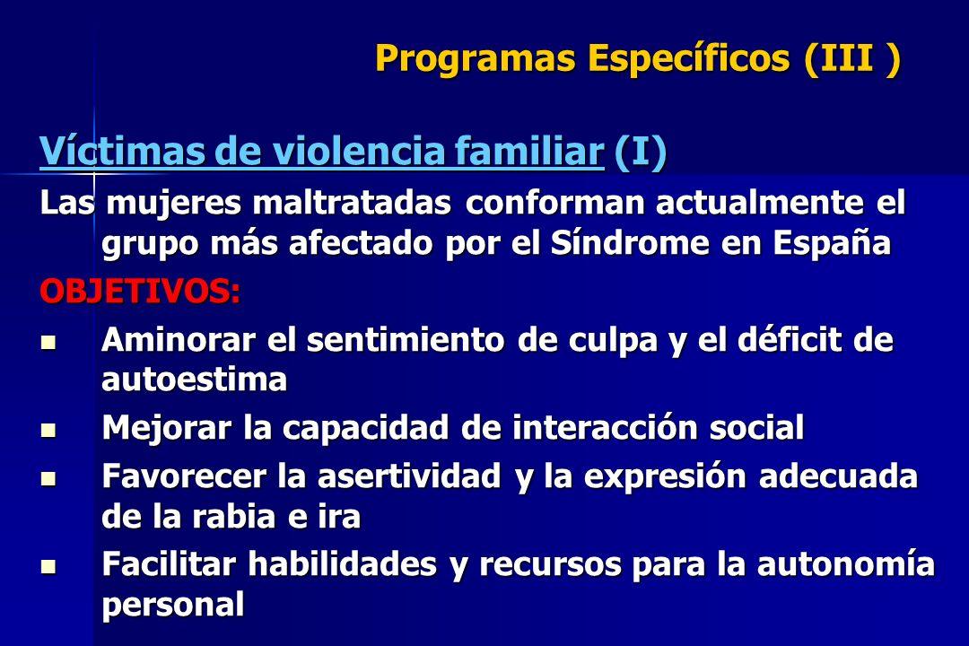 Programas Específicos (III )