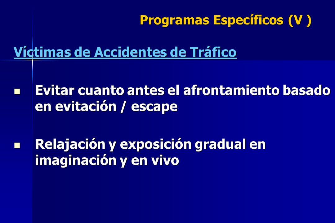 Programas Específicos (V )
