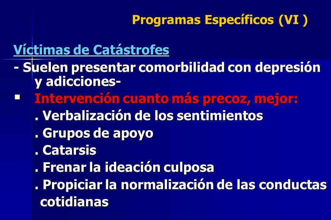 Programas Específicos (VI )