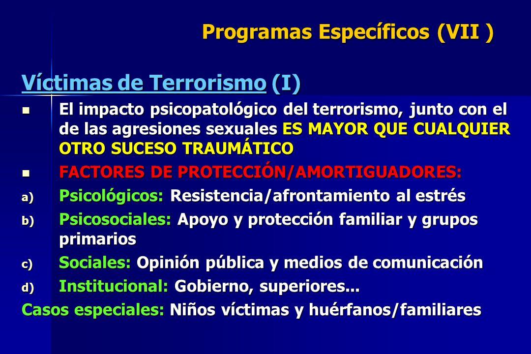 Programas Específicos (VII )