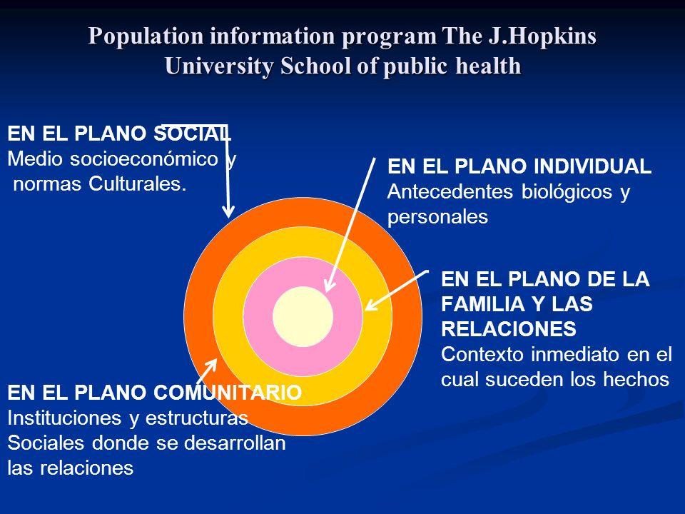 Population information program The J