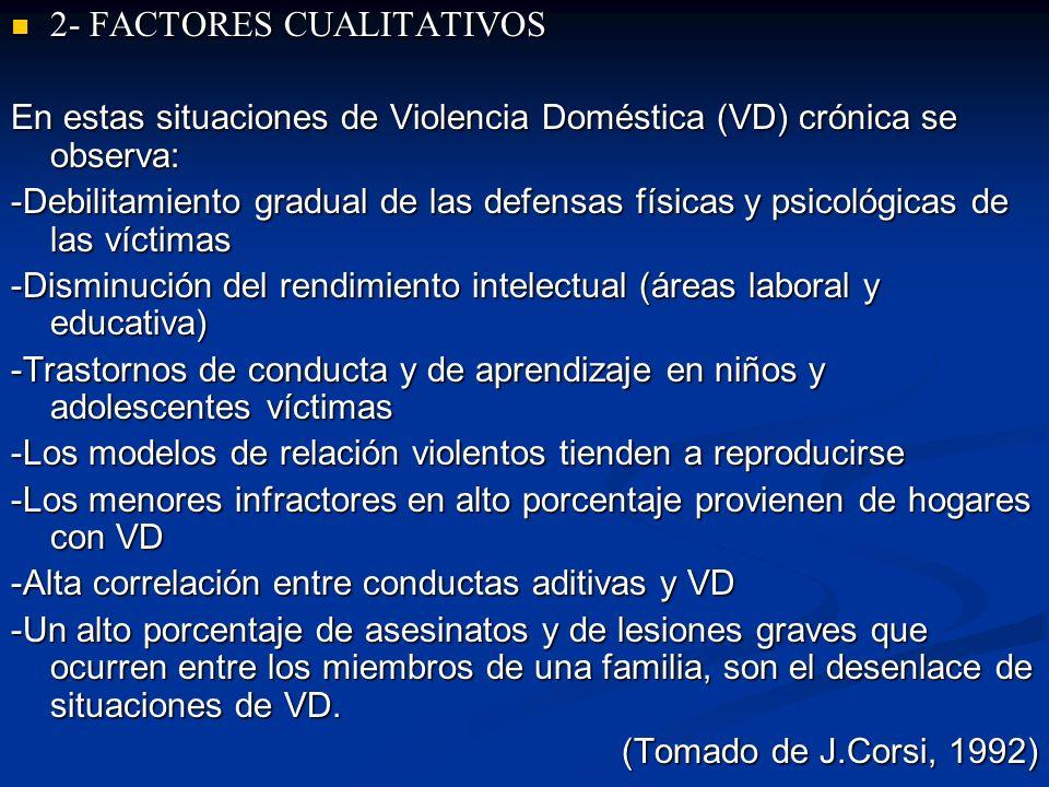 2- FACTORES CUALITATIVOS