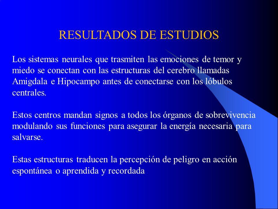 RESULTADOS DE ESTUDIOS