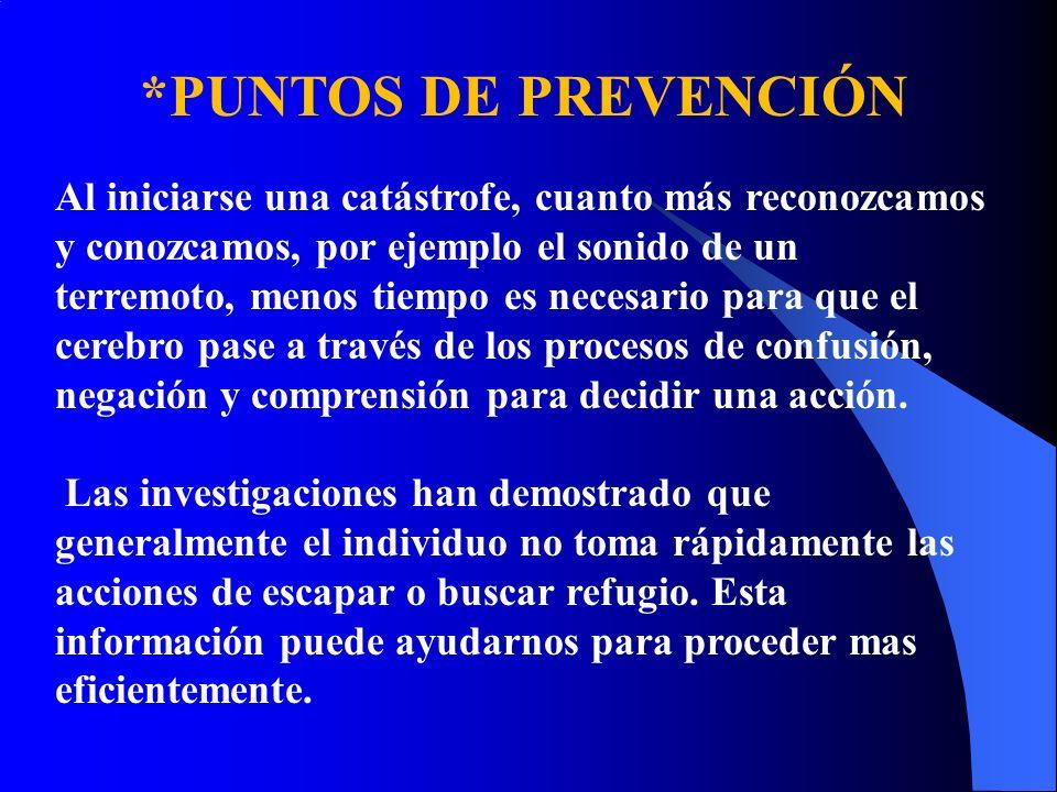 *PUNTOS DE PREVENCIÓN