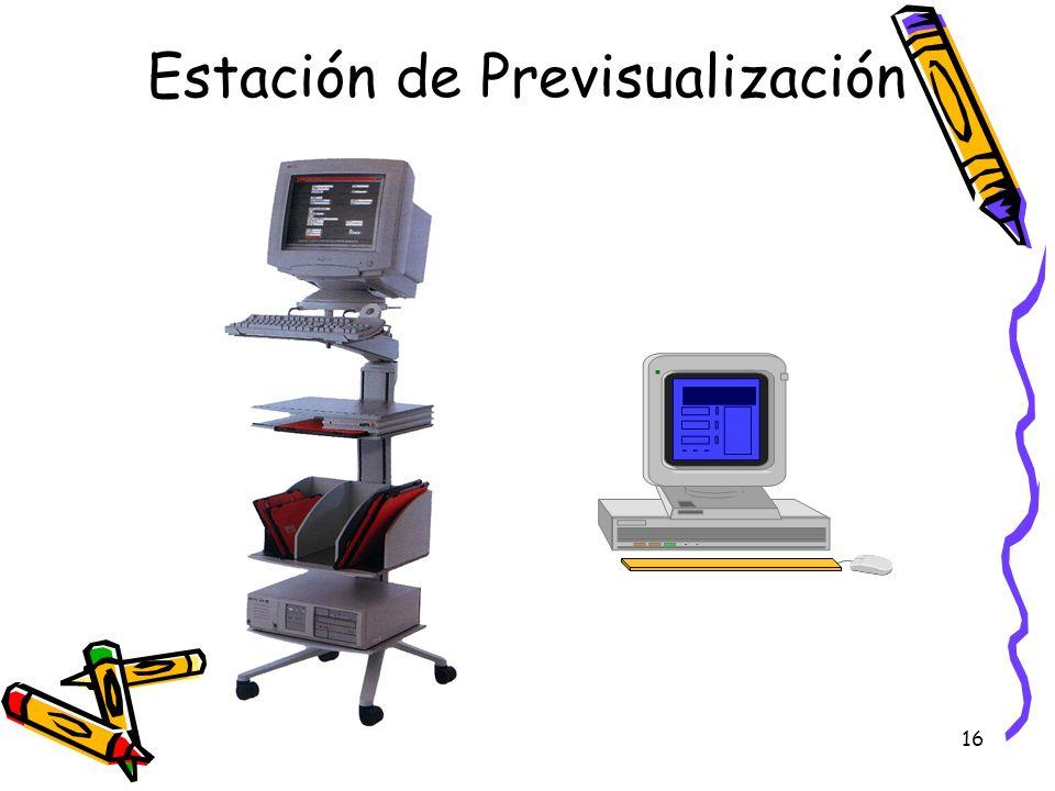 Estación de Previsualización
