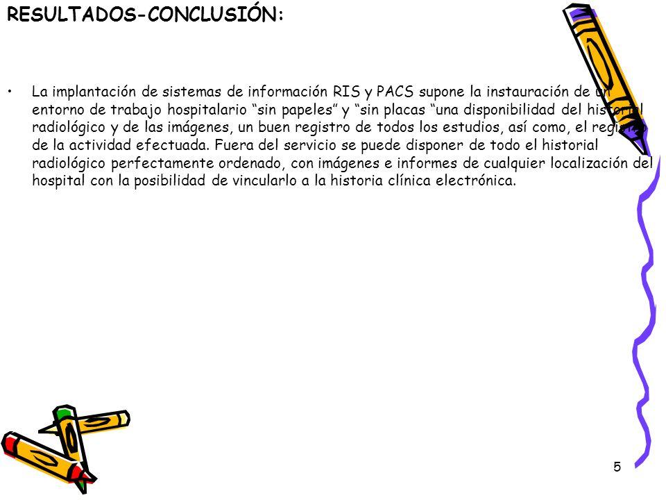 RESULTADOS-CONCLUSIÓN: