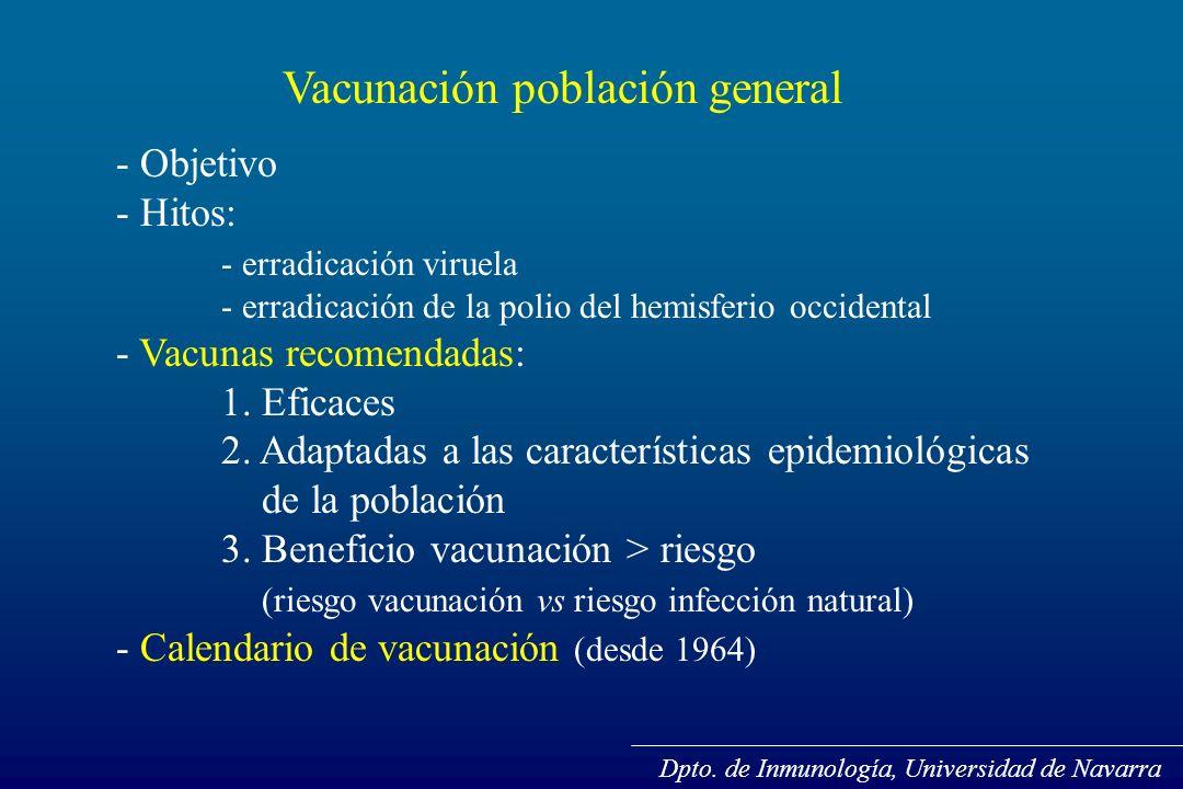 Vacunación población general