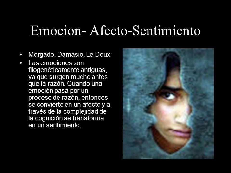 Emocion- Afecto-Sentimiento