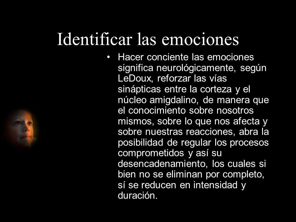 Identificar las emociones