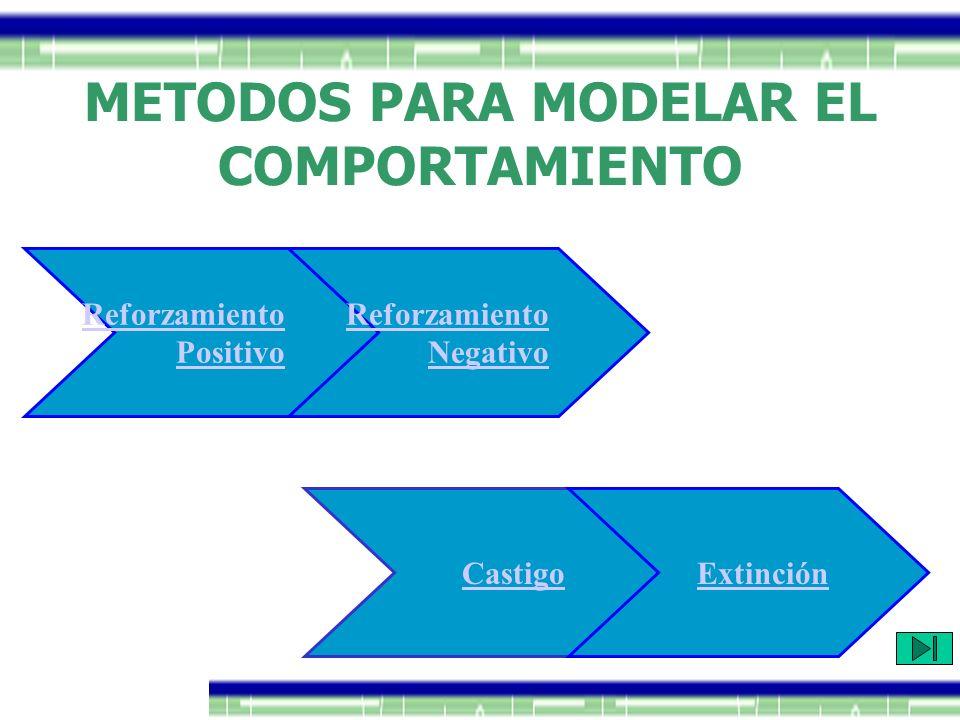 METODOS PARA MODELAR EL COMPORTAMIENTO