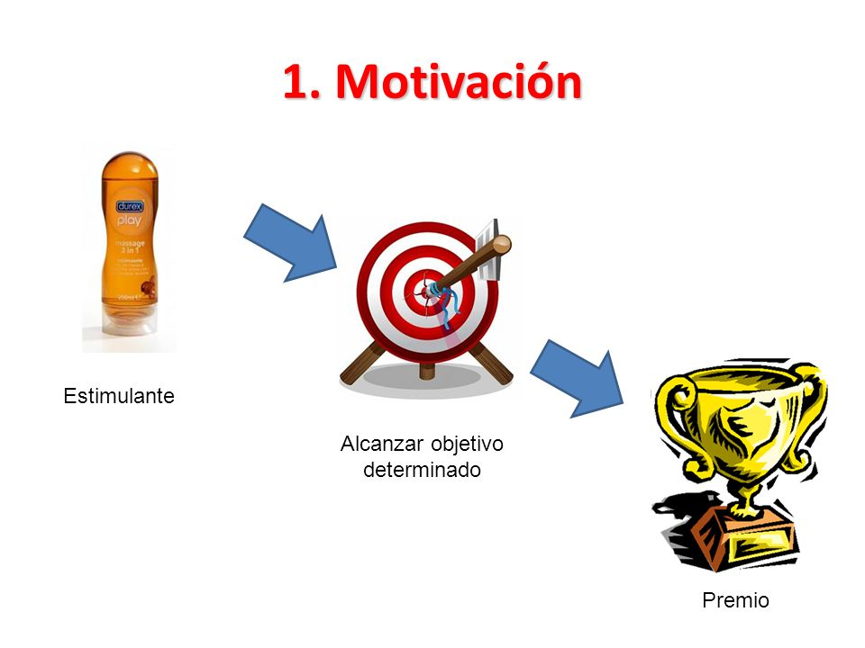 Alcanzar objetivo determinado