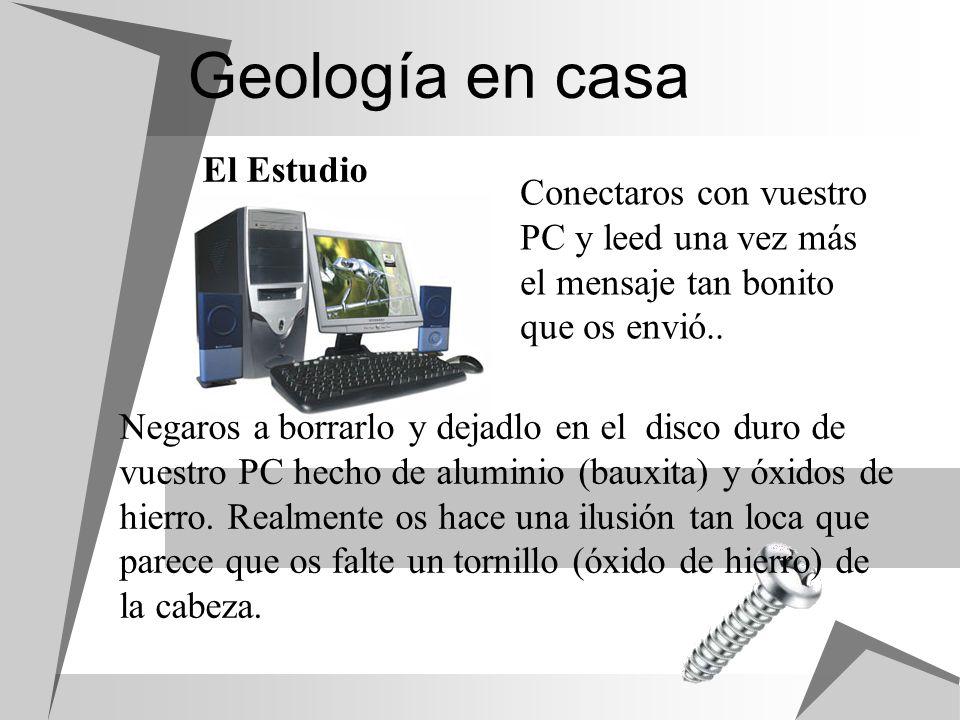 Geología en casa El Estudio