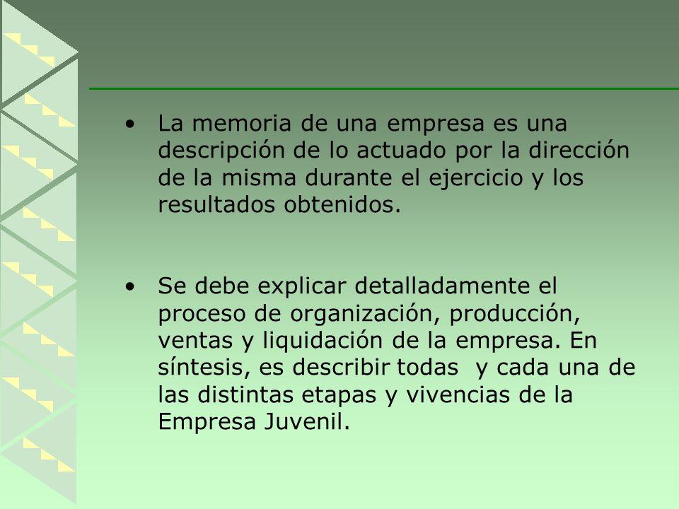 La memoria de una empresa es una
