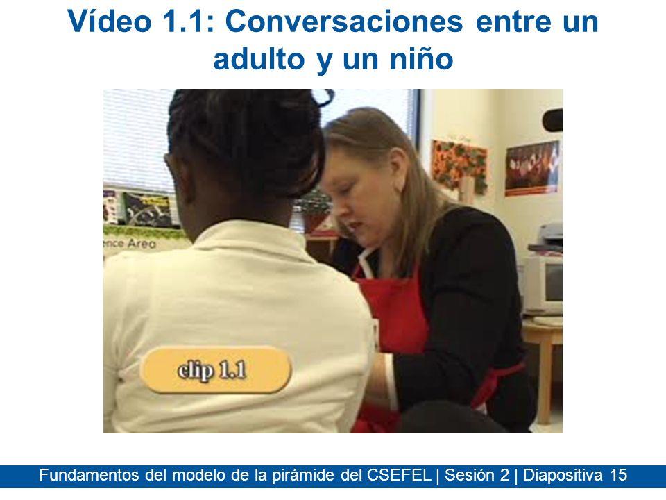 Vídeo 1.1: Conversaciones entre un adulto y un niño