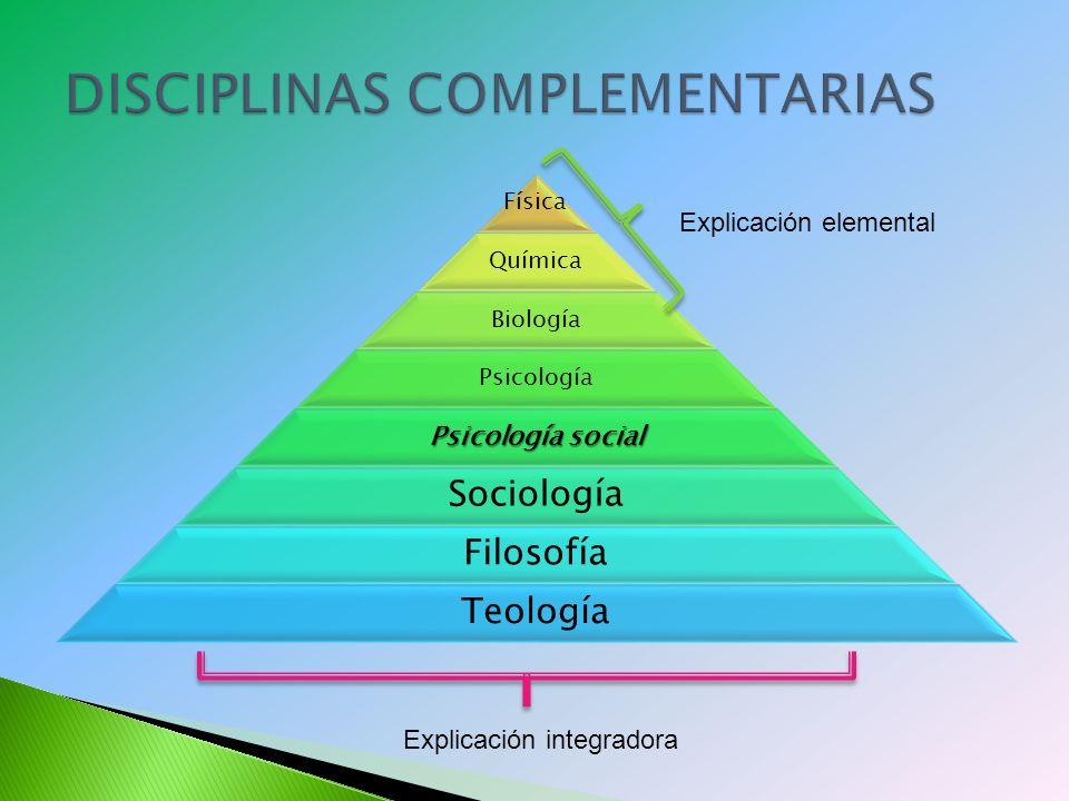 DISCIPLINAS COMPLEMENTARIAS
