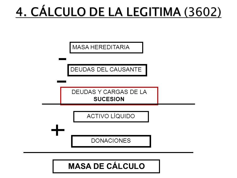 4. CÁLCULO DE LA LEGITIMA (3602)