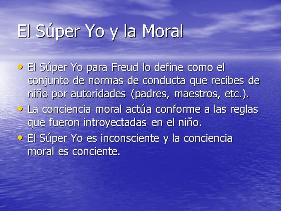 El Súper Yo y la Moral