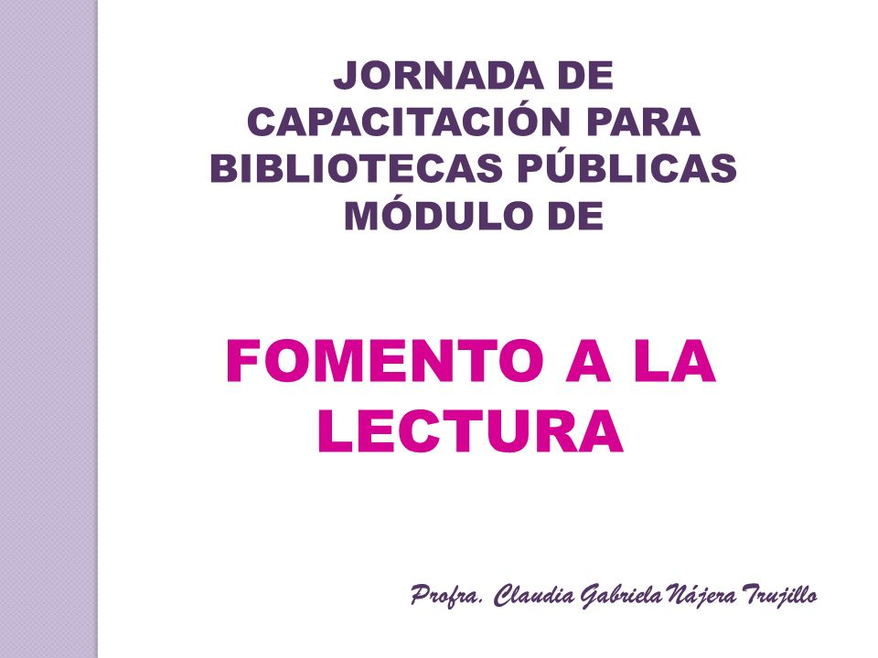 Profra. Claudia Gabriela Nájera Trujillo