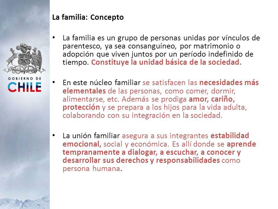 La familia: Concepto