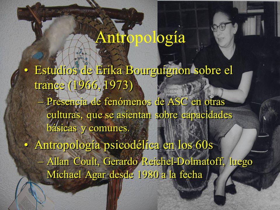 Antropología Estudios de Erika Bourguignon sobre el trance (1966, 1973)