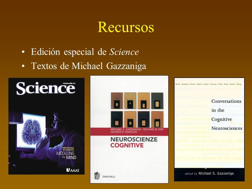 Recursos Edición especial de Science Textos de Michael Gazzaniga
