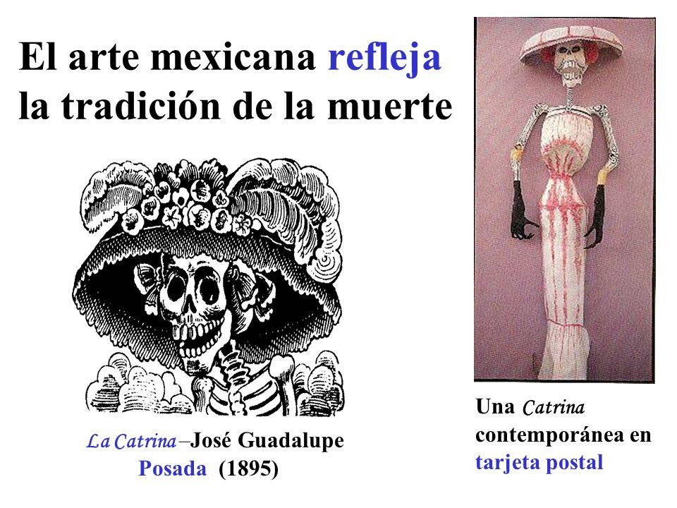 El arte mexicana refleja la tradición de la muerte