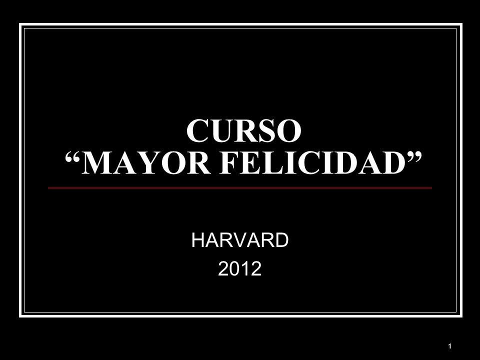 CURSO MAYOR FELICIDAD