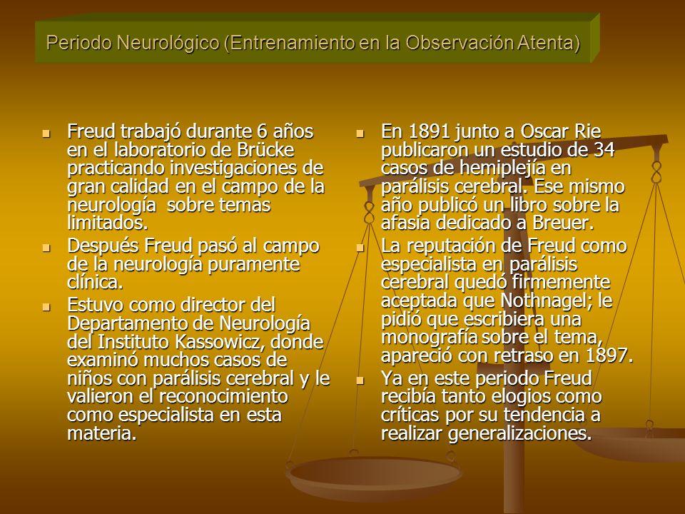 Periodo Neurológico (Entrenamiento en la Observación Atenta)