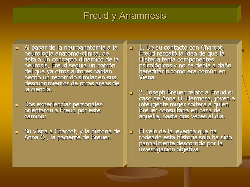 Freud y Anamnesis