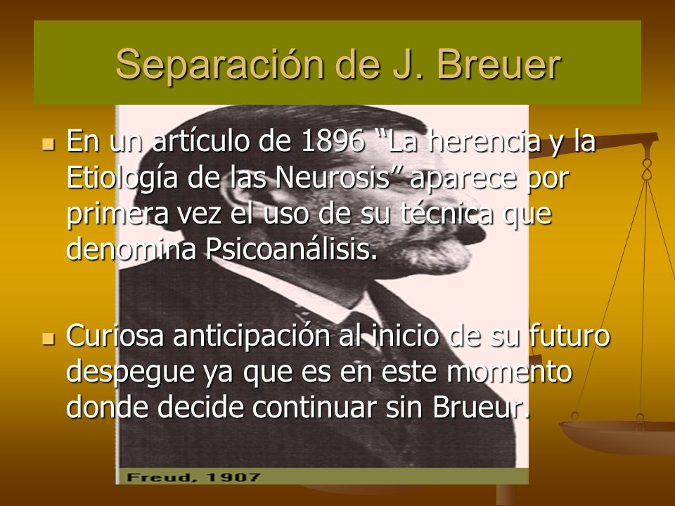Separación de J. Breuer