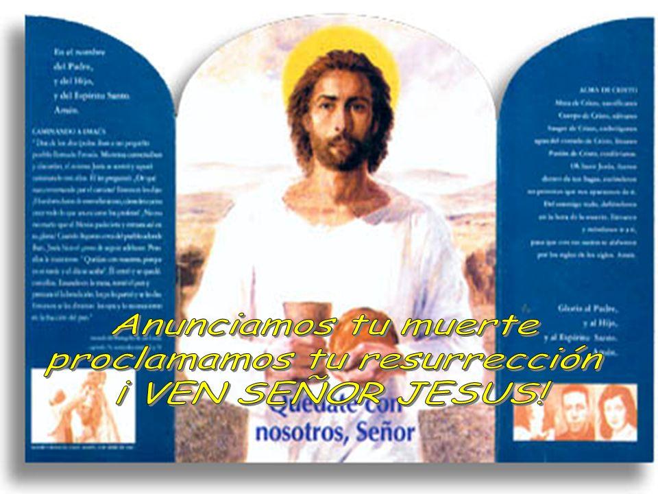 proclamamos tu resurrección