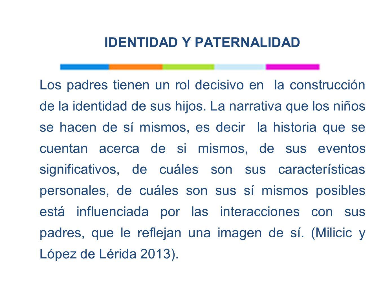 IDENTIDAD Y PATERNALIDAD