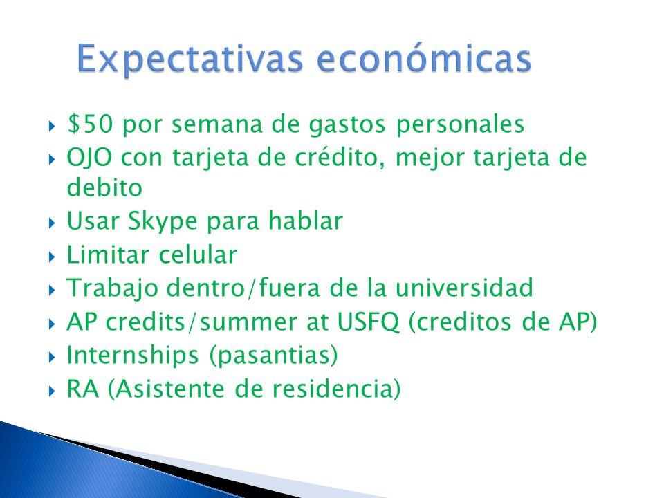 Expectativas económicas