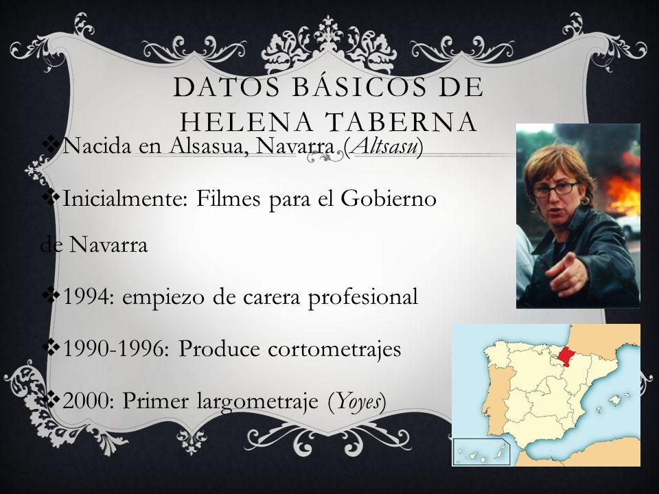 Datos Básicos de Helena Taberna