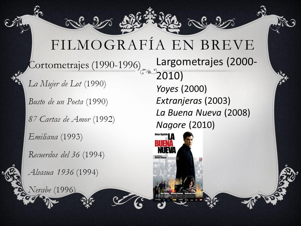 Filmografía en Breve Largometrajes (2000-2010)
