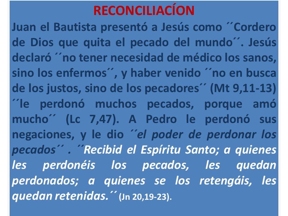 RECONCILIACÍON
