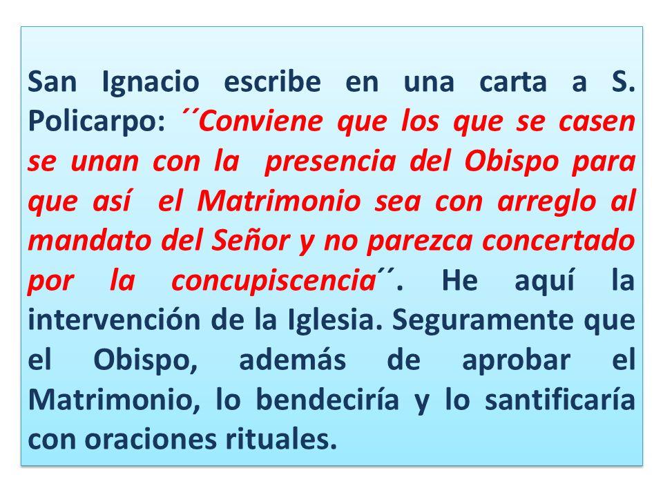 San Ignacio escribe en una carta a S