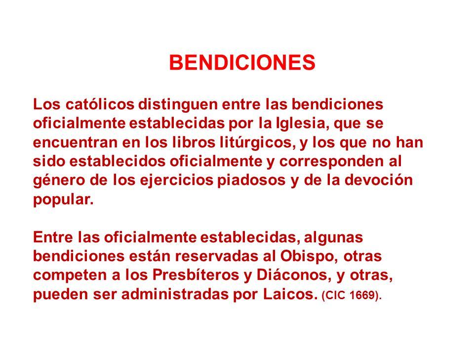 BENDICIONES