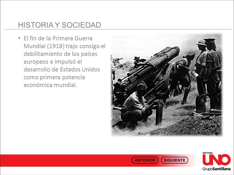 HISTORIA Y SOCIEDAD