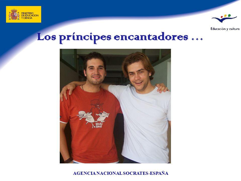 Los príncipes encantadores …