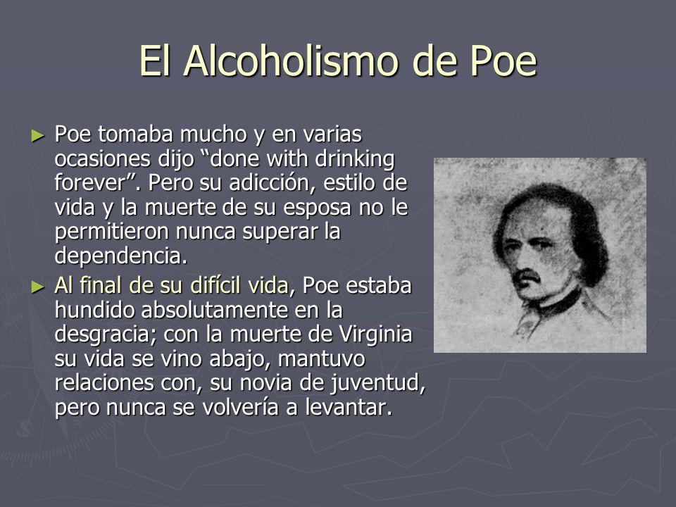El Alcoholismo de Poe