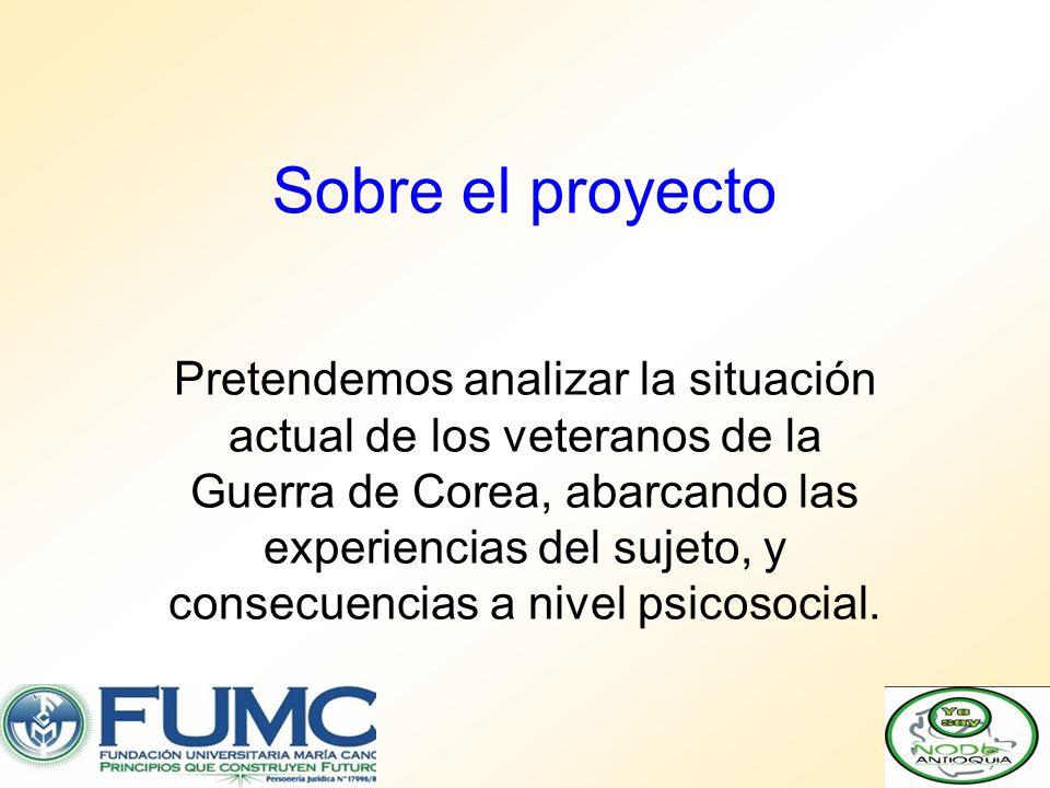 Sobre el proyecto