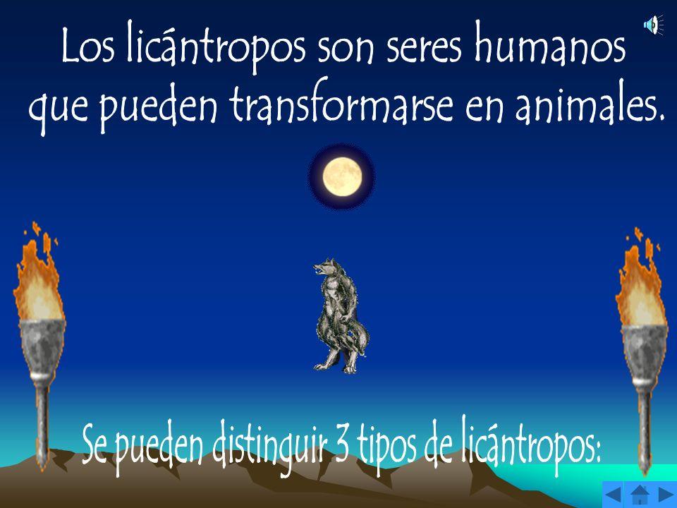 Los licántropos son seres humanos