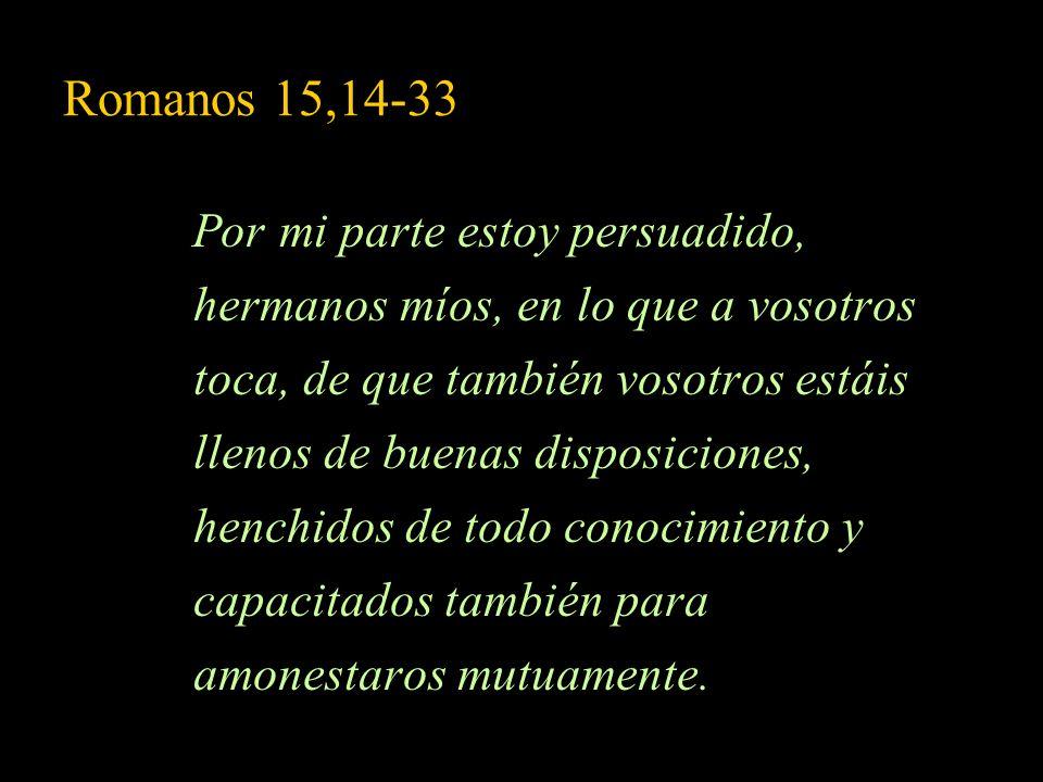 Romanos 15,14-33