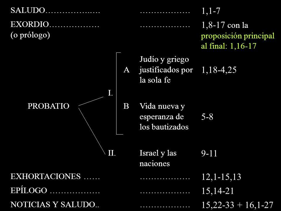 1,8-17 con la proposición principal al final: 1,16-17