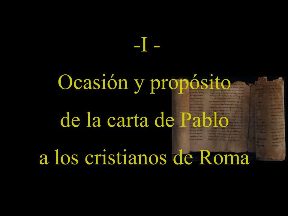 a los cristianos de Roma