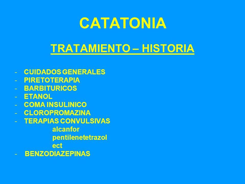 TRATAMIENTO – HISTORIA