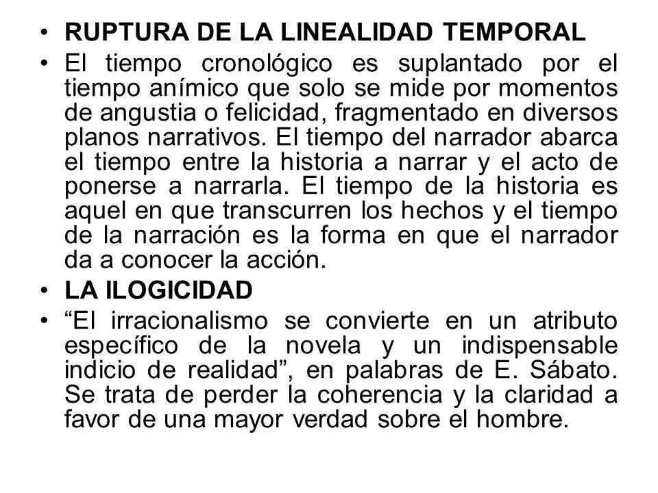 RUPTURA DE LA LINEALIDAD TEMPORAL