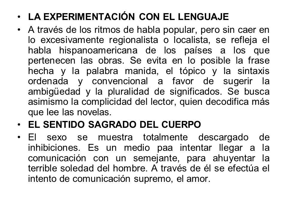 LA EXPERIMENTACIÓN CON EL LENGUAJE